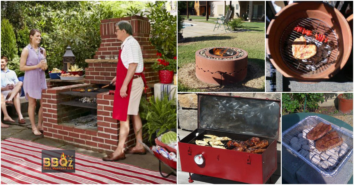How to Build a Barbecue Fire In a Wood and Charcoal Grill