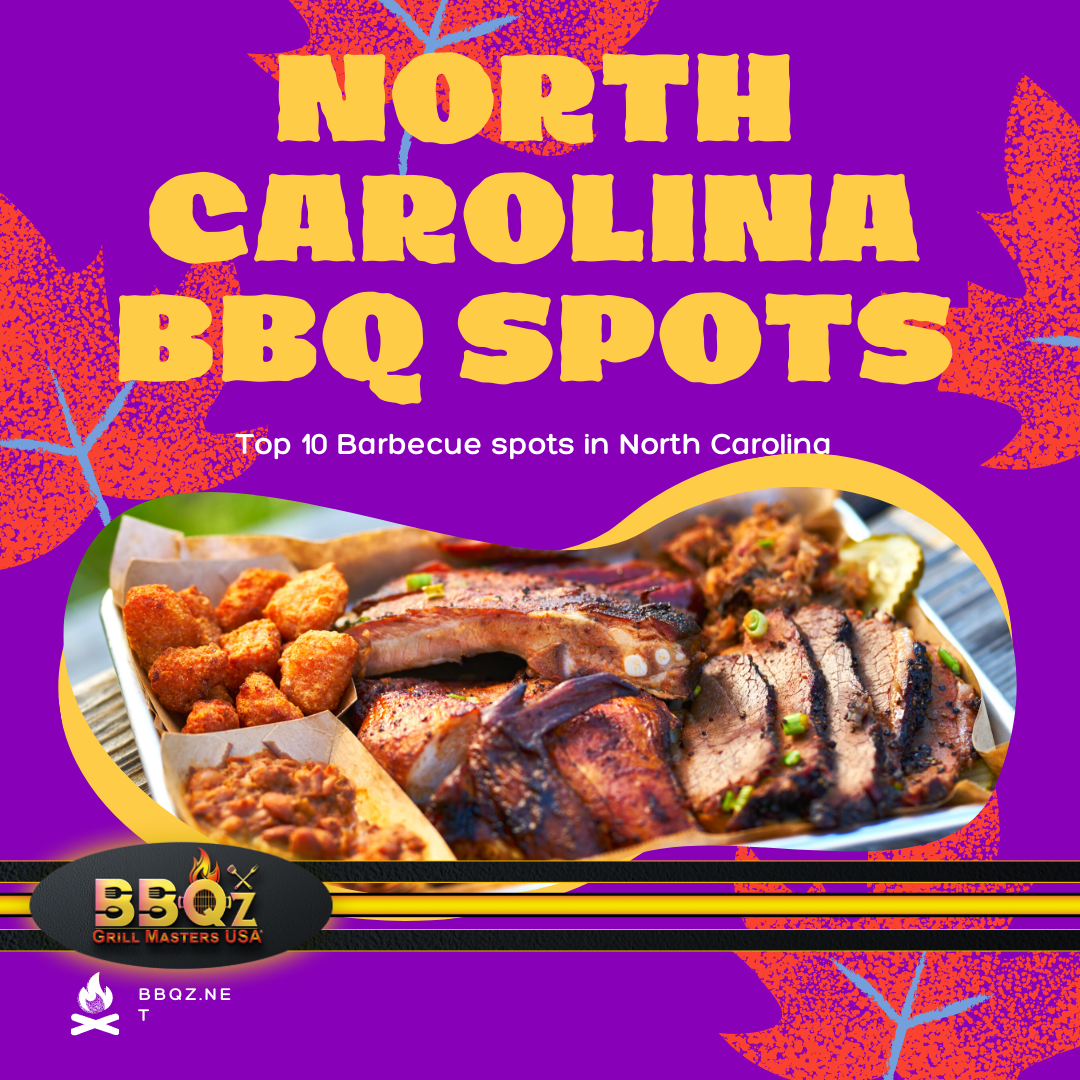 Where Are the Top 10 BBQ Restaurants in North Carolina?
